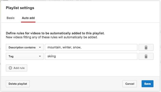 Panduan Menambahkan video ke daftar putar youtube secara otomatis