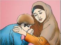 Cium Tangan, bukan Taruh Pipi apalagi Jidad