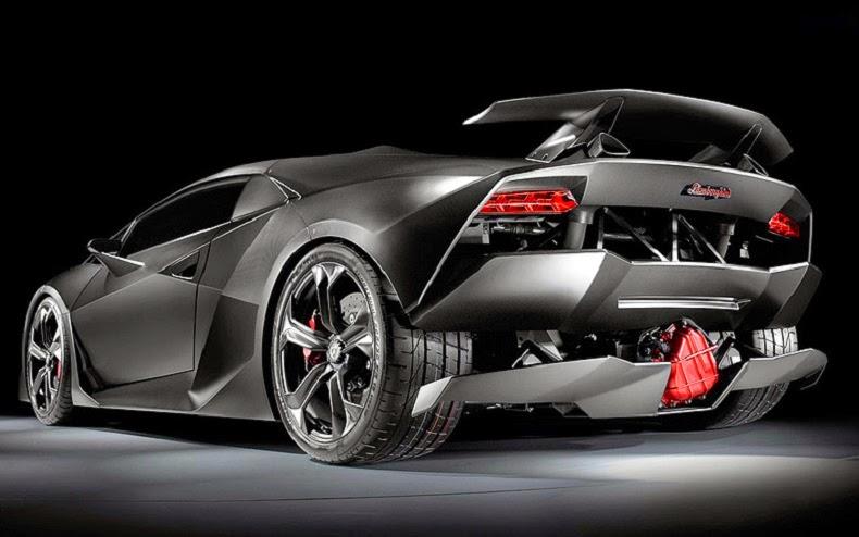 Lamborghini Sesto Elemento rear picture