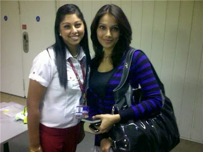 Bipasha Basu Spotted With Fans