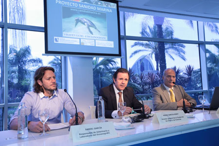 El Oceanogràfic y la Universidad Complutense dirigen el 'Proyecto Sanidad Marina'