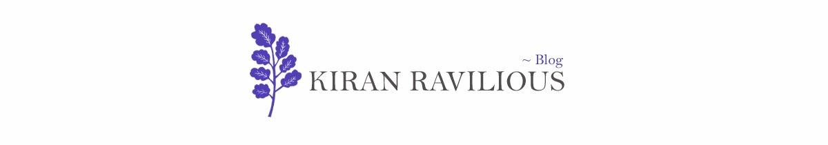 kiran ravilious blog