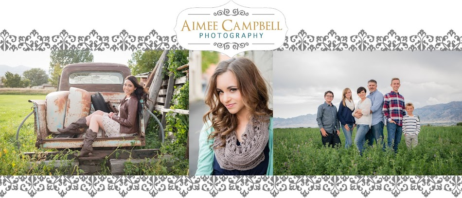 Utah Boudoir, Senior, and Family Portrait Photographer | Aimee Campbell Photography