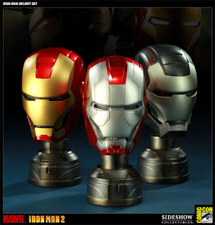 Iron Man Helmet Set
