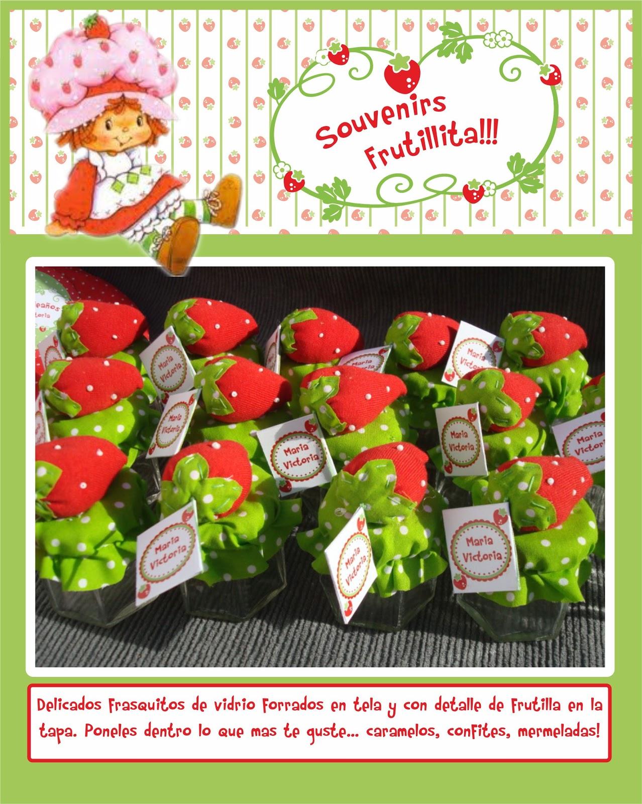 Ideas por monton: Souvenirs de frutillita!