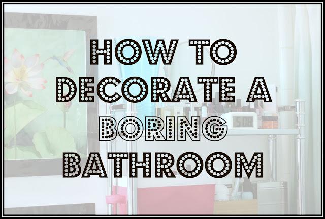 Boring Bathroom Makeover | Apartment Bathroom Makeover | Bathroom Decoration