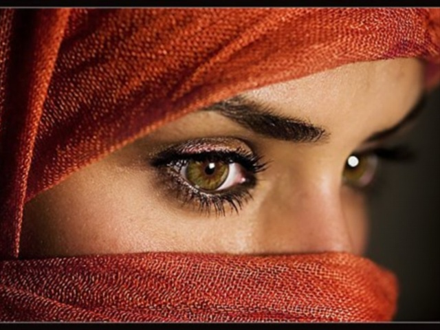 Arabic women: Arabic woman eyes - Arabic woman