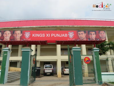 Kings XI branding at stadium