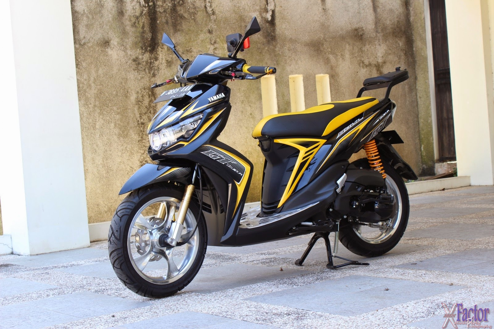 Top modifikasi ringan mio sporty
