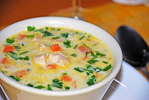Суп с сушеными белыми грибами фото рецепт