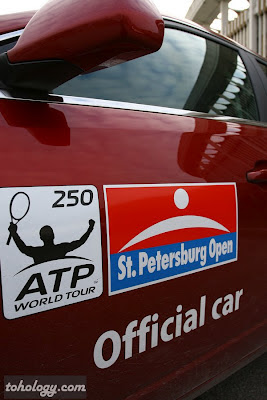 St. Petersburg Open official car