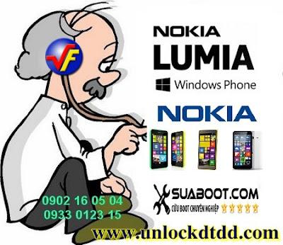 Chia se qua trinh sua loi unable to find a bootable option thay o cung nokia lumia 520 cuc nhanh