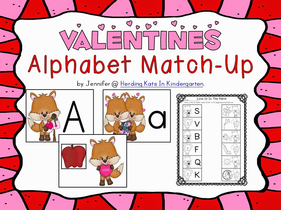 https://www.teacherspayteachers.com/Product/Valentines-Day-Alphabet-Match-Up-1696881