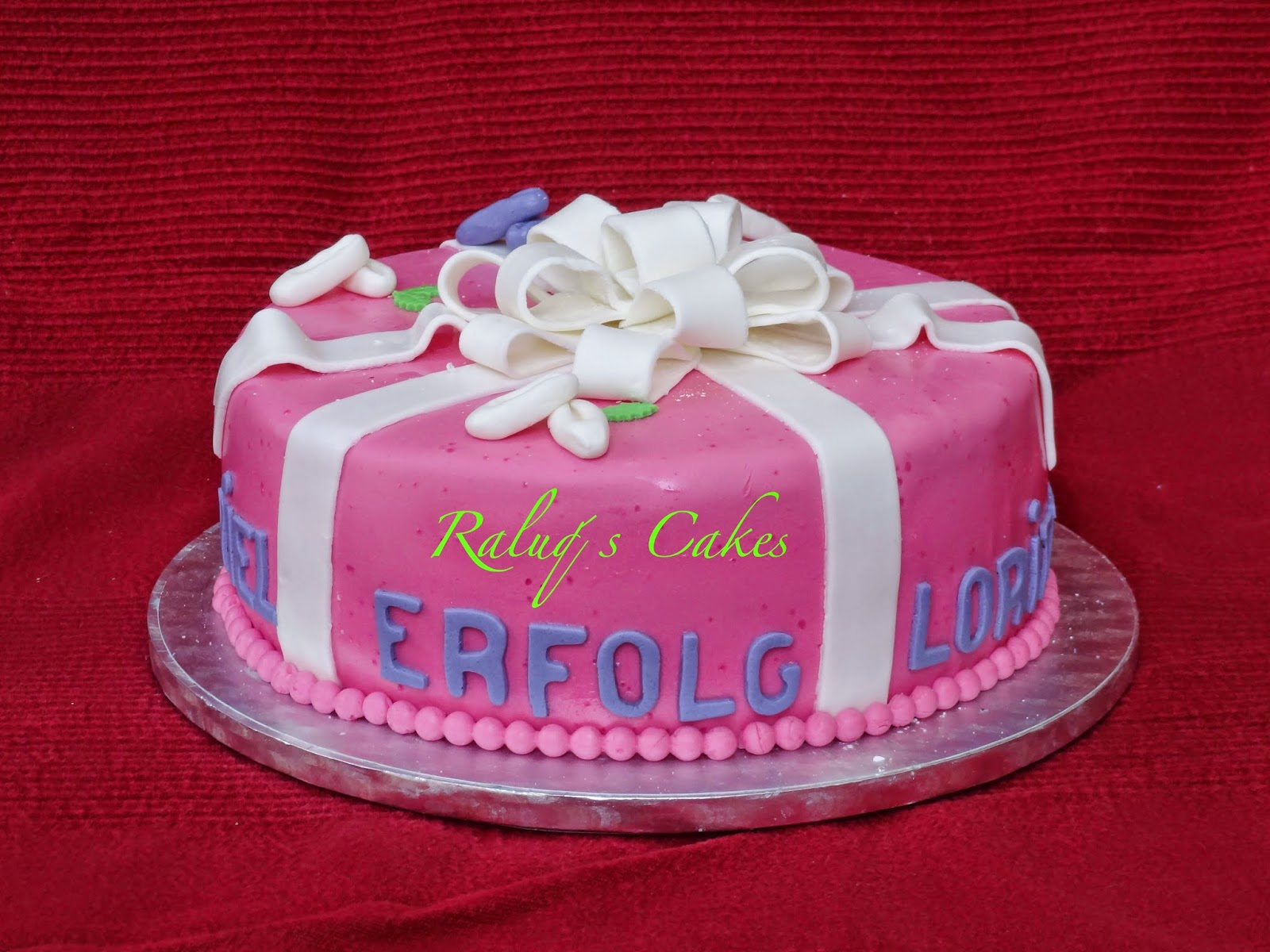 Raluq´s fondant cakes: Februar 2015