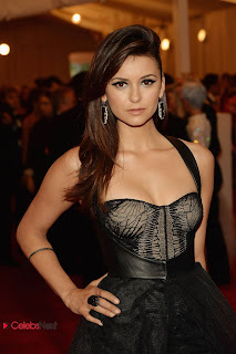 Nina Dobrev Pictures at 2013 Met Gala in New York 0001