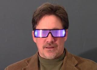 Kacamata Glospex Dapat Menyala Dalam Gelap