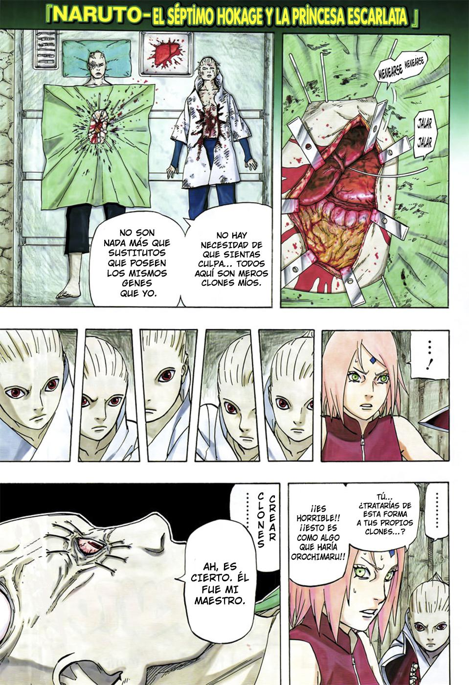 Naruto Gaiden Manga: NARUTO GAIDEN MANGA 700 + 7 MANGA CAP 7 ESPAÑOL