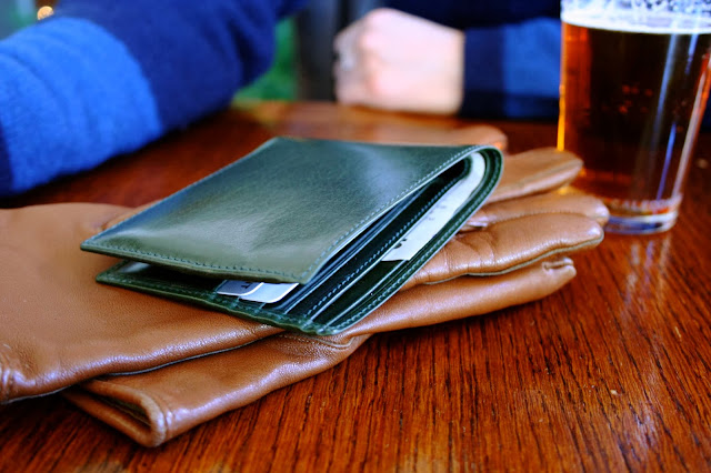 leather accessories brand uk, made in england uk leather goods, H&B london leather wallet british racing green, best uk leather brands, vintage leather gloves
