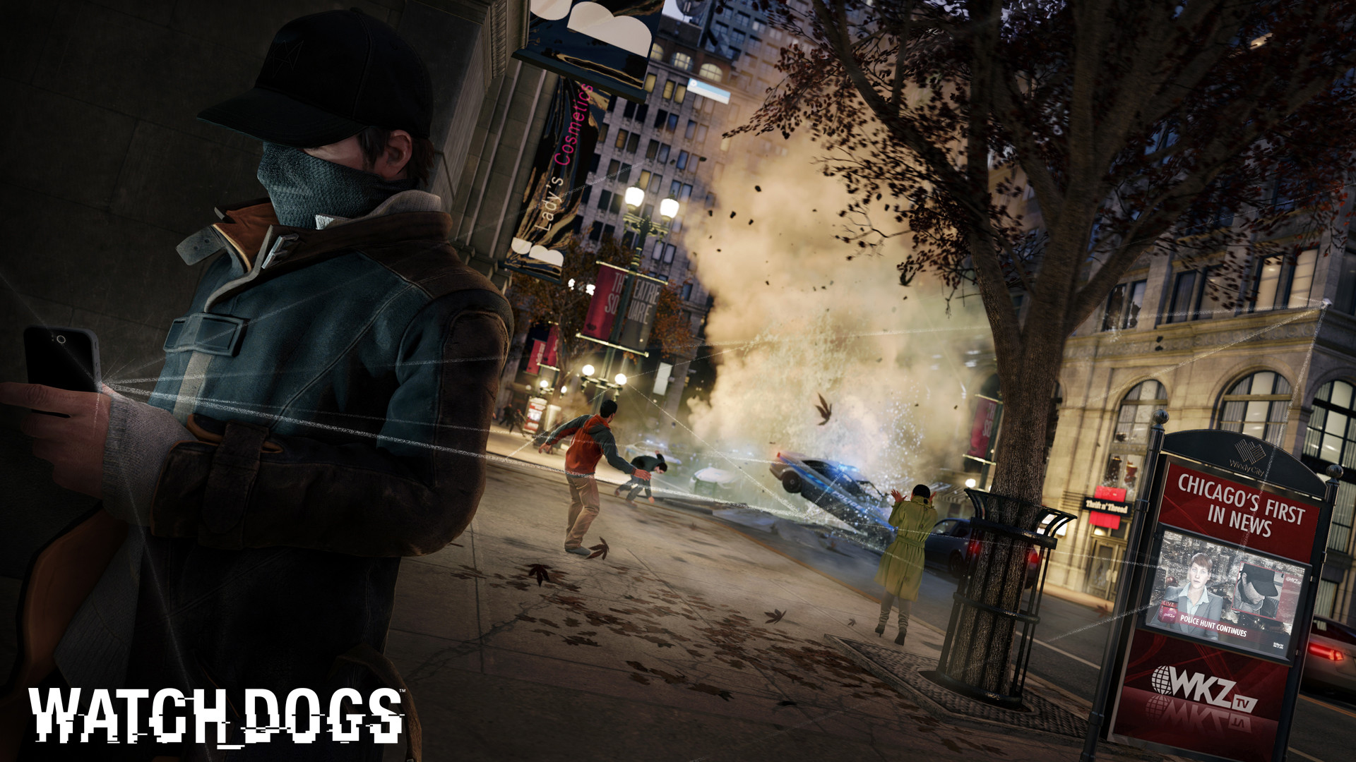Watch Dogs Game 21 Wallpaper HD