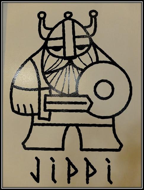 Jippi Design norvégien logo viking scandinave
