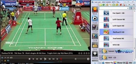 Viet-SimpleTV: Phần mềm Xem hàng trăm kênh tivi HD trực tuyến