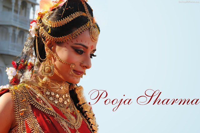 Beautiful Spicy Pooja Sharma Wallpaper