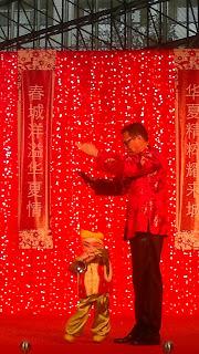 Rugao Puppet Show - RafflesCity, Singapore