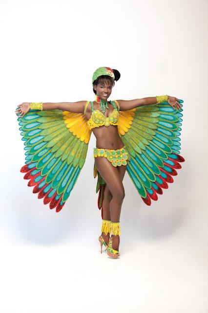Srta. Colombia 2011-2012. Desfile en traje artesanal Chocó: Yesica Paola Montoya
