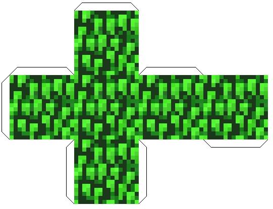 Minecraft как сделать листву