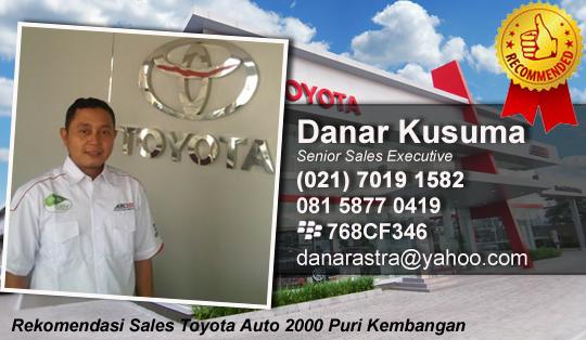 Rekomendasi Sales Toyota Auto 2000 Puri Kembangan Jakarta Barat