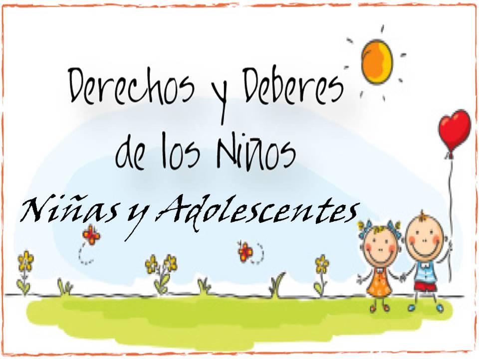 Jaime Jose Piña Arangure: Deberes y Derechos de los Niños ...