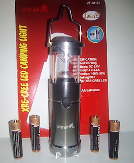 Lampu Camping / Lampu tenda UltraFire ZF-60147 Cree