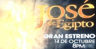 José de Egipto¨ ¡Estrena el 14 de octubre en MundoFOX