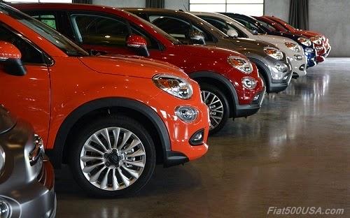2016 Fiat 500X Media Drive