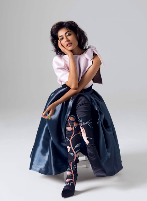 Chitrangda Singh's Photoshoot for Harper's Bazaar