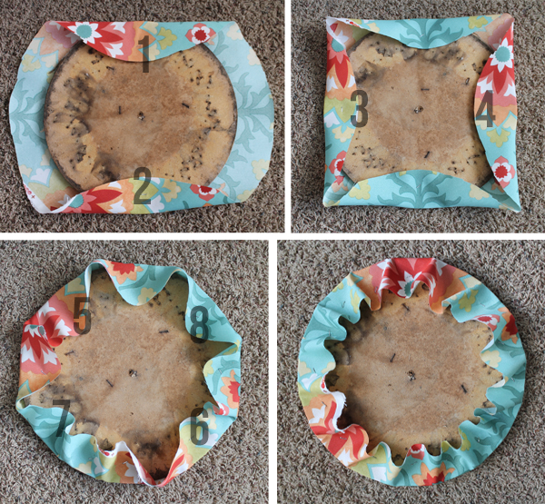 How To Reupholster A Round Chair SeatThe Craft Patch  How To Reupholster A Round Chair Seat of Recover A Round Chair Seat