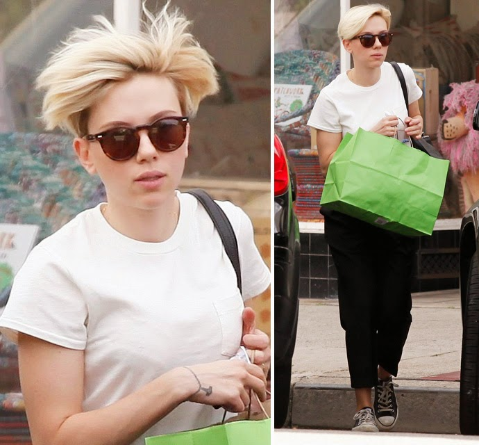 Scarlett Johansson incorporates a alarming Day searching In Santa Monica