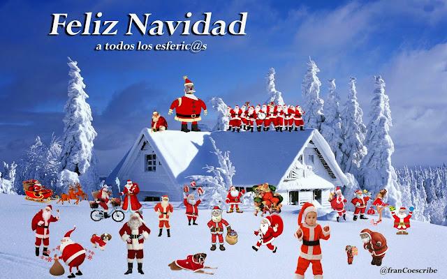 Wally, Papa Noel, santa Claus, Navidad, nieve