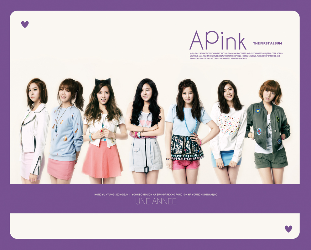 [Album] A Pink – Une Annee [The 1st Abum]