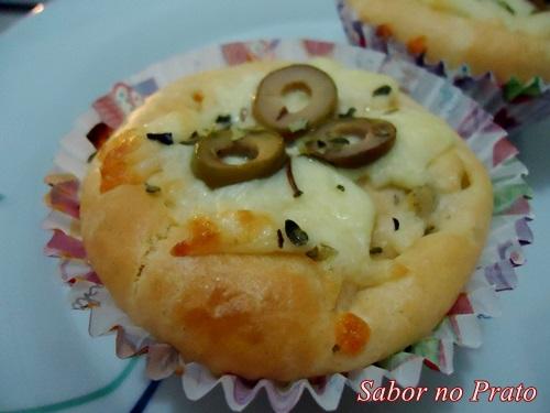 Um cupcake salgado delicioso e fácil de fazer!