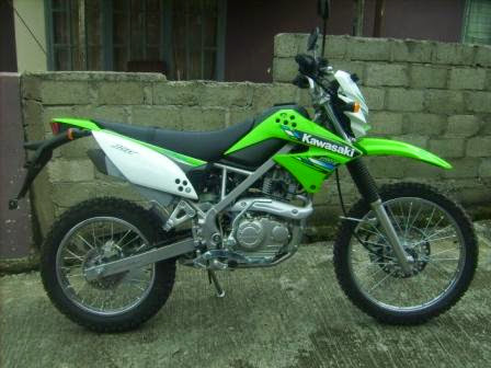 KLX 150S motor trail takut modifikasi title=