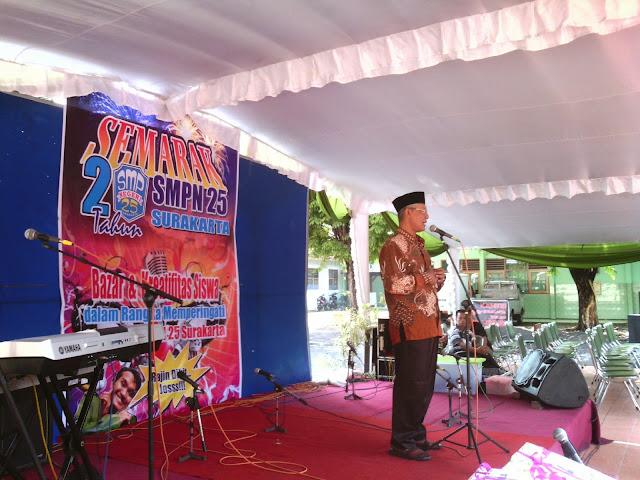 Semarak Ultah SMP 25 Surakarta