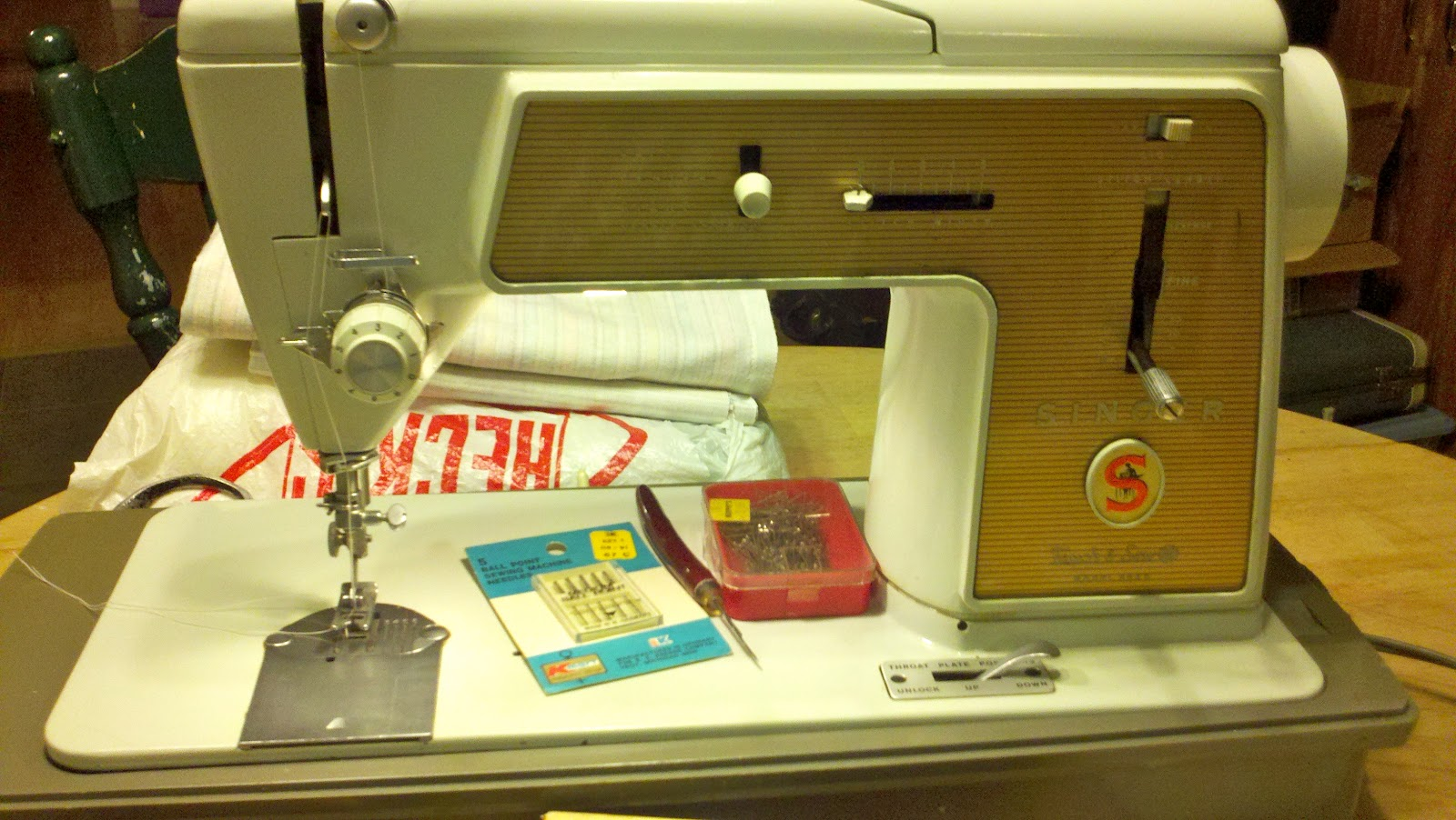 You are my child sewing machine for Children s material sewing