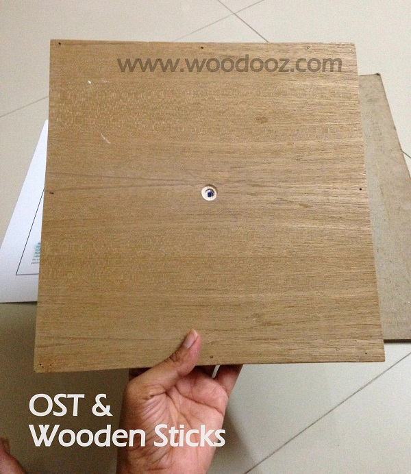 Wooden sticks and OST
