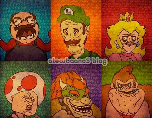 Memerio, Mario versão memes