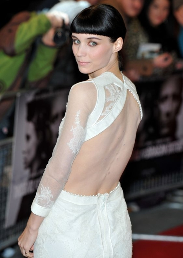 rooney mara the girl with the dragon tattoo premiere - Rooney Mara