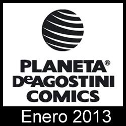 Planeta DeAgostini Cómics: Novedades Enero 2013