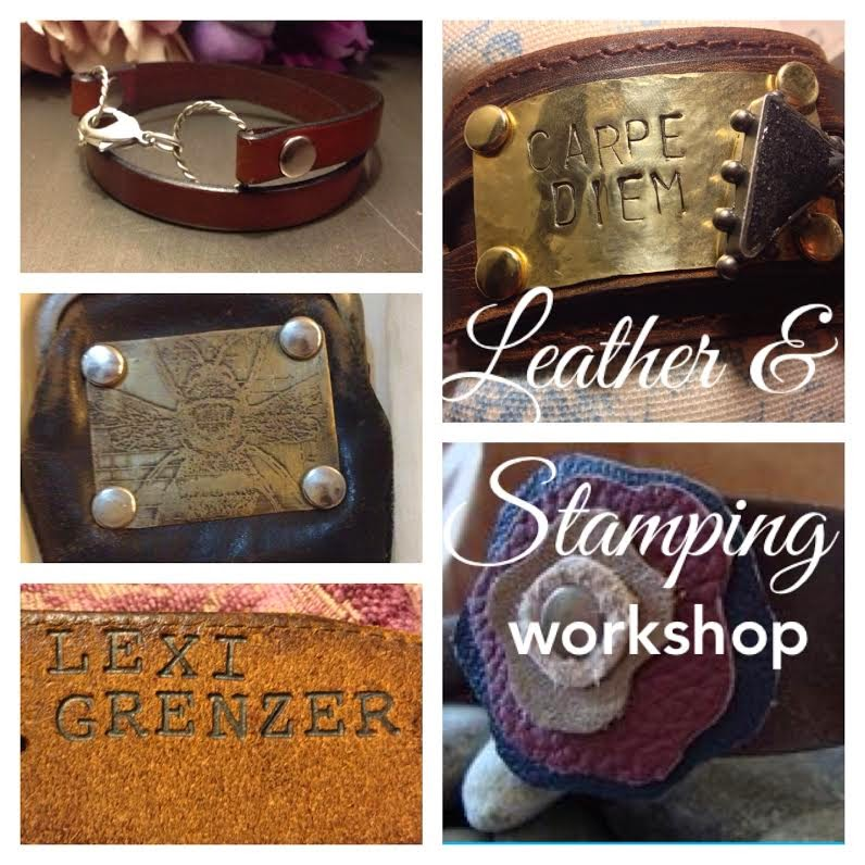 Leather & Stamping Workshop