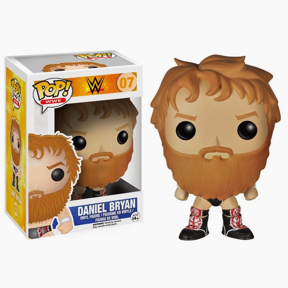 Funko Pop! Daniel Bryan WWE exclusive