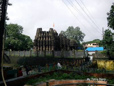 Lord Shiva Temple in Ambernath during Shravan